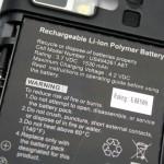 DX900採用的是1,530mAh電池,最長可連續通話6小時。