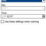My Phone軟件可自行選擇同步資料的類別,更可設定至定時自動同步。