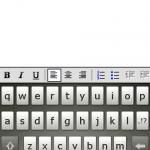P835採用自家製的Asus Keyboard,內置多個中英輸入法如T9、五筆及符號等,大大提升了輸入文字的速度。