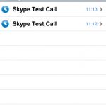 iPhone版Skype跟其他版本內置使用記錄查詢。