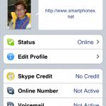 Skype可查看自己的個人及Skype帳戶資料,當然也能在這裡修改。