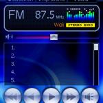 DX650內置FM收音機功能。