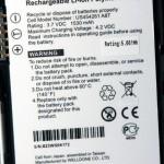 X960採用的是1,530mAh電池,最長可連續通話6小時。