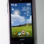GSmart S1200體積細小,外型有點像iPhone。