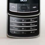 特別之處是beTouch E200內置數字鍵盤,可用來撥號及作文字輸入之用。
