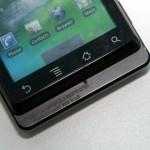 螢幕下方備有四個常用的Android手機按鍵。