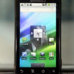 Motorola Milestone是首部採用配備WVGA螢幕的Android手機。