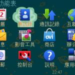 啟動Ovi Mode後的功能表。